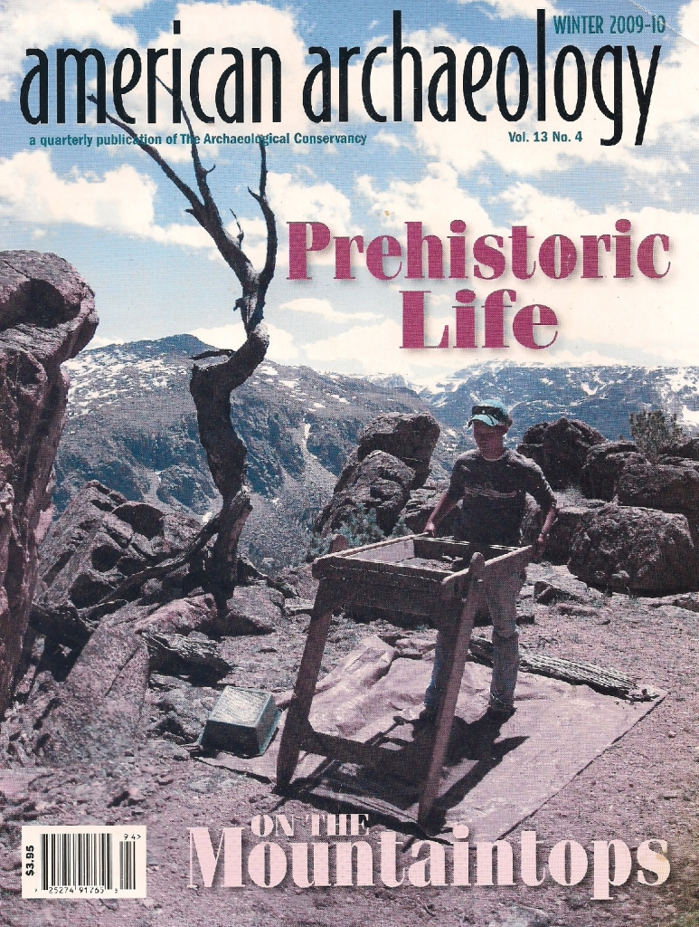 American Archaeology prehistoric life mountaintops