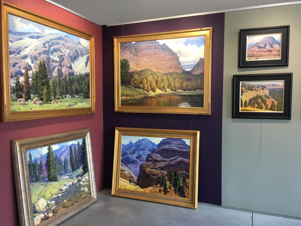 Gale Badlands Gallery Western landscape paintings