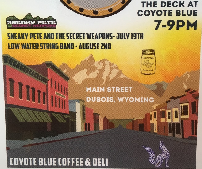 Low Water String Band @ Coyote Blue Coffee & Deli